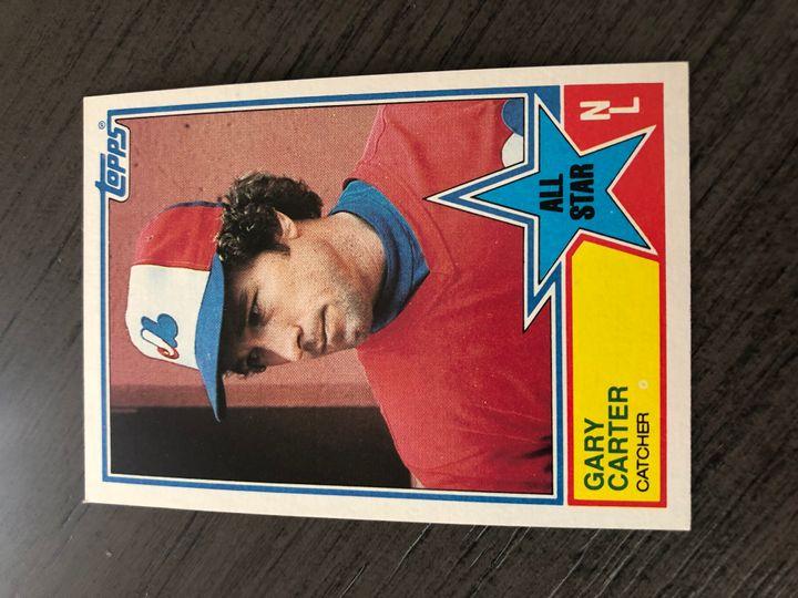 1983 TOPPS GARY CARTER 404 Item Image