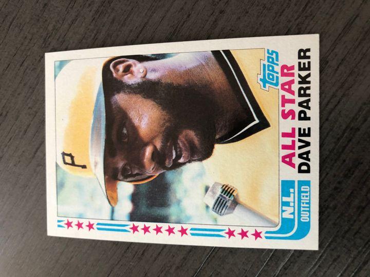1982 TOPPS DAVE PARKER 343 Item Image
